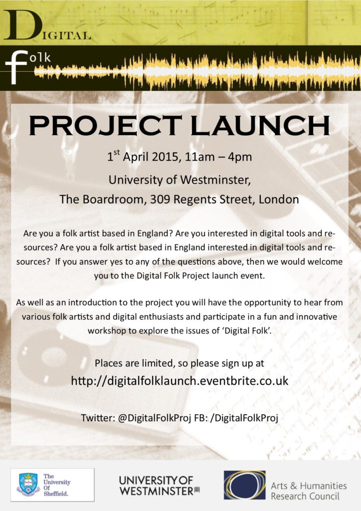 Launch Flier