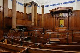 The Victorian Courtroom at St Georges Hall