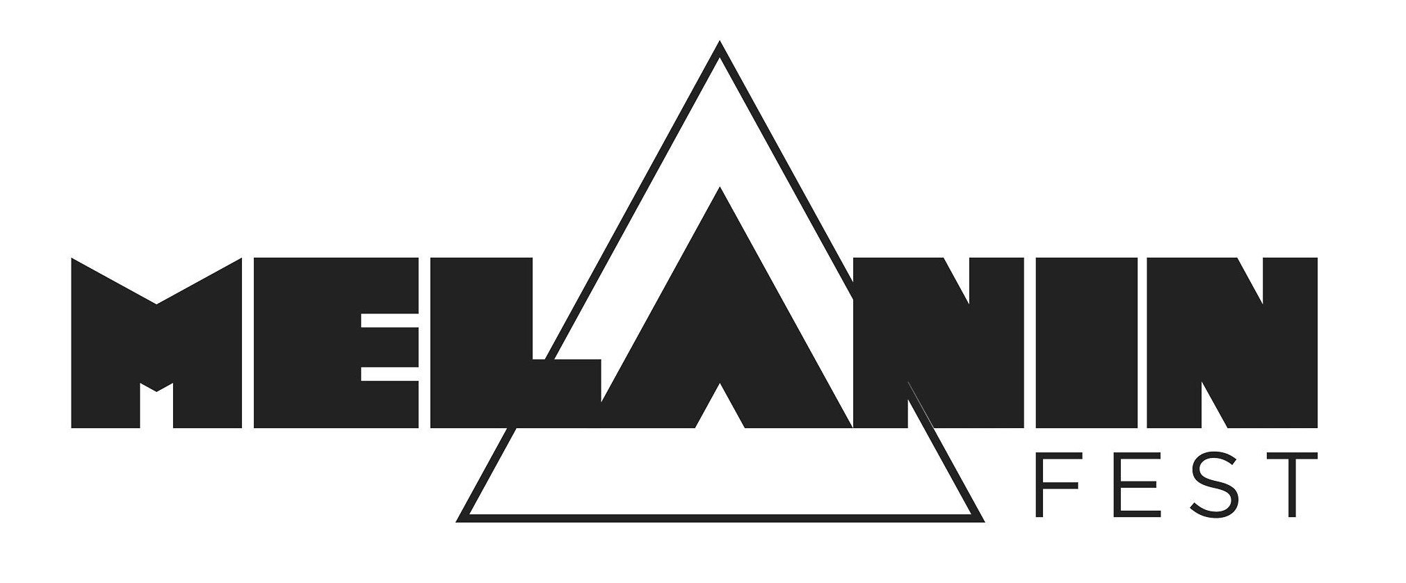 Logo for Melanin Fest