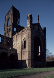 Kirkstall Abbey East View of presbytery