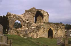 Kinloss Abbey south transept
