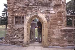 Rufford west range and doorway