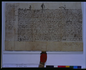Court of Augmentations: Roche Abbey, surrender deed