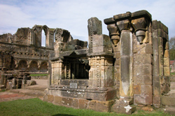 Williams's shrine at Rievaulx