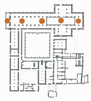 Plan of Byland Abbey