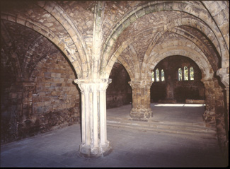 Kirkstall abbey chapter-house � Abbey House Museum