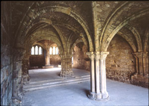 Kirkstall Abbey Chapter House