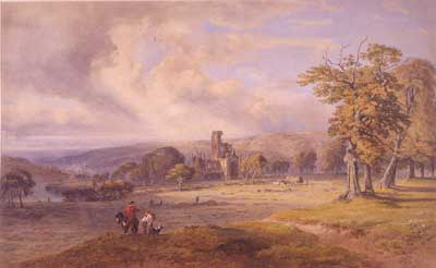 19th Century Image of Kirkstall © Abbey House Museume