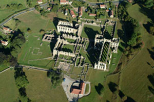 Rievaulx from the air © English Heritage