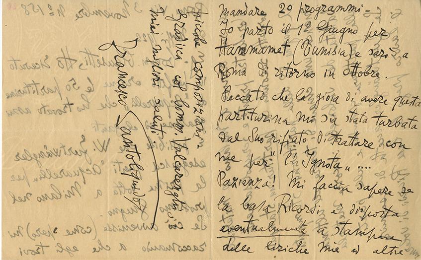 Archivio Storico Ricordi | Collezione Digitale