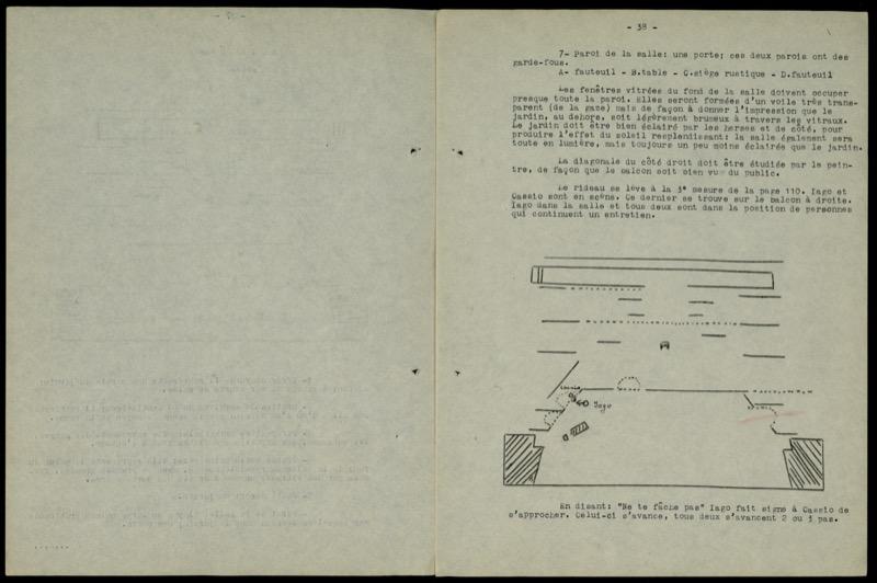 Othello Mise En Scène Archivio Storico Ricordi