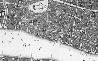 Locating London's Past Historical GIS, large datasets, data visualisation, historical maps, historical records.